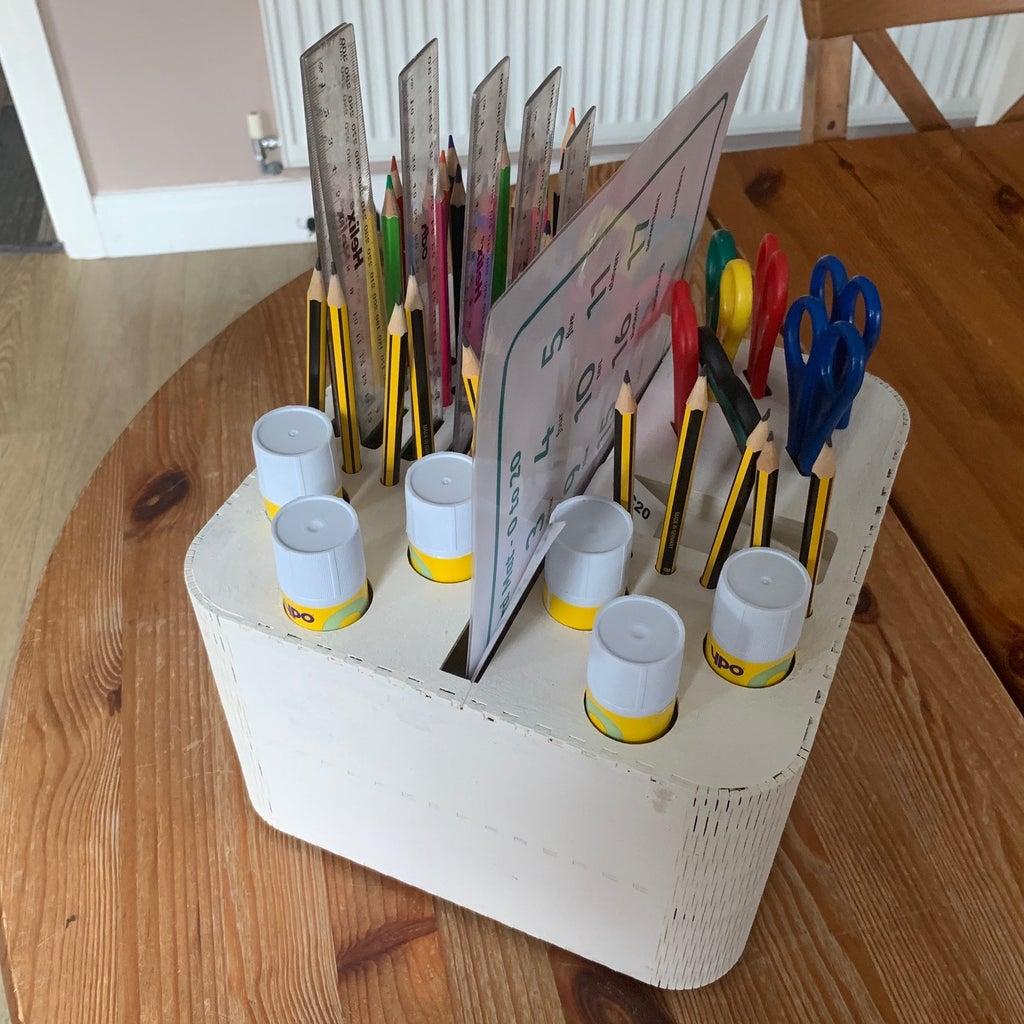 Ultimate Classroom Table Organiser