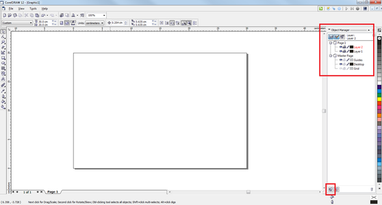 Within the Object Manager Pane, Click New Layer.