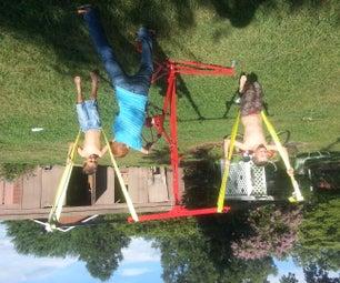 DIY Children's Carnival Style Swing Ride
