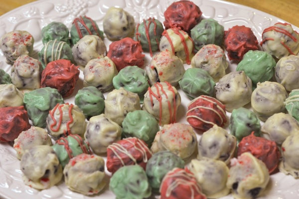 Holiday Inside Out Oreo Balls