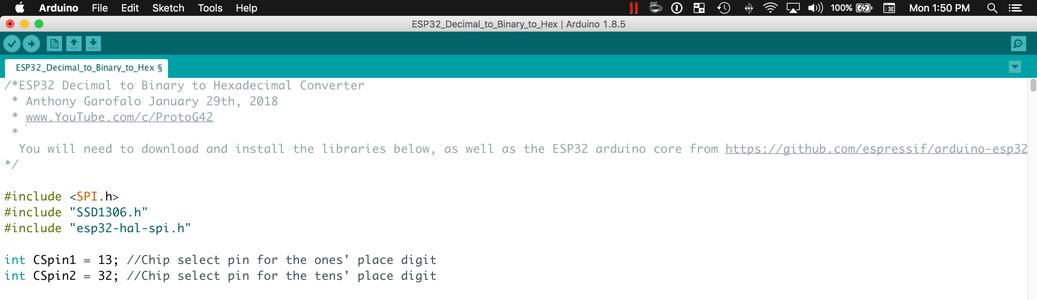 Program the ESP32 With the Arduino IDE