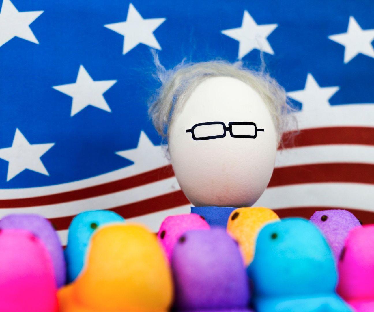 Trump & Bernie - Easter Eggs