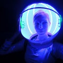 LED Space Helmet