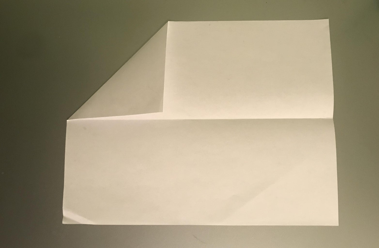 Fold the First Corner