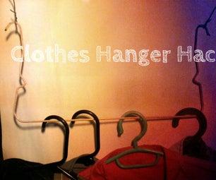 Clothes Hanger Hack