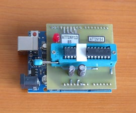 A Tiny Programmer for ATTINY Microcontrollers With Arduino UNO