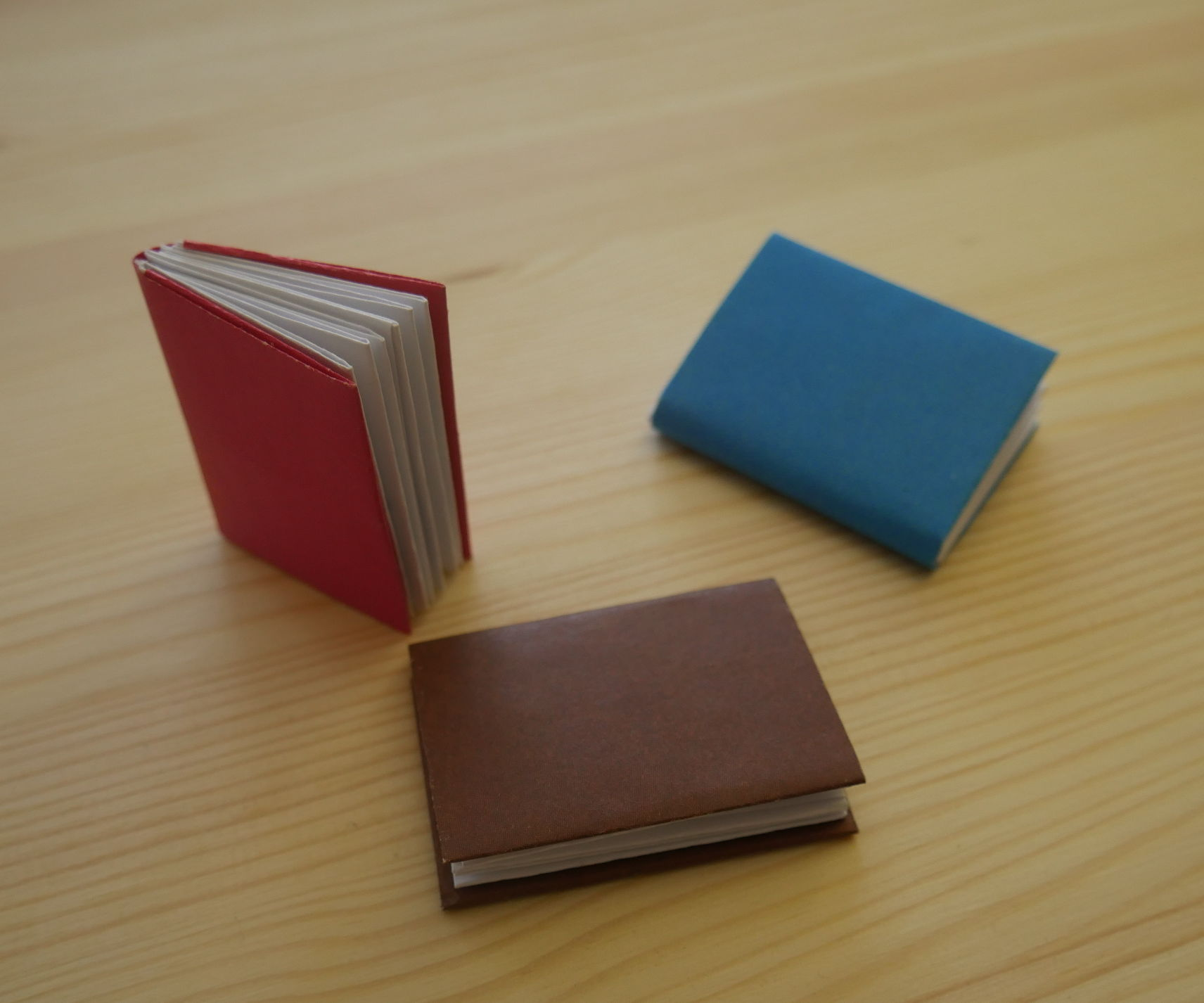 Origami. How to Make a Book Out of Paper.