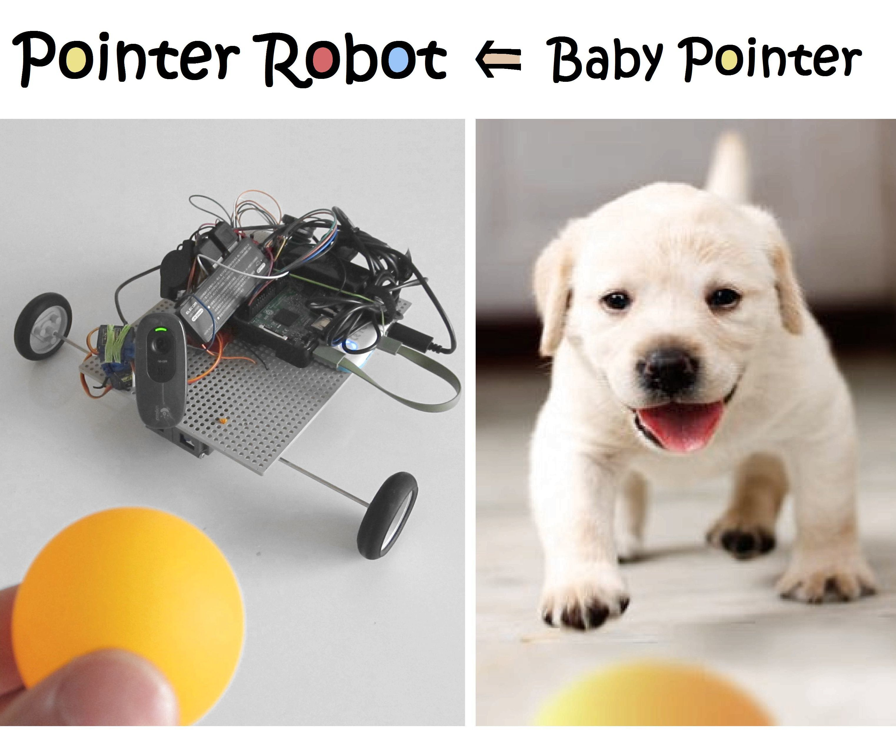 Pointer Robot With RPi and Arduino