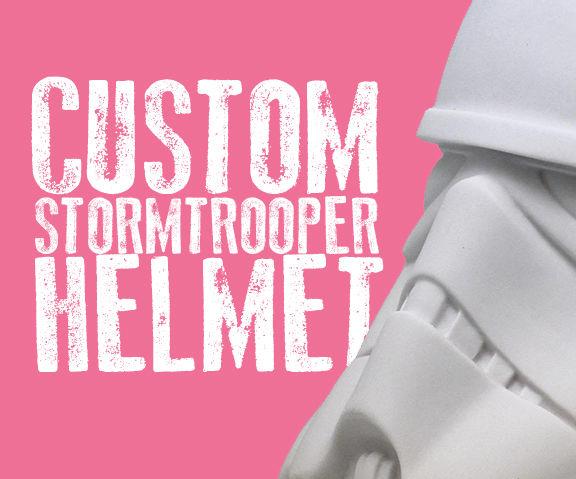 Custom Stormtrooper Helmet