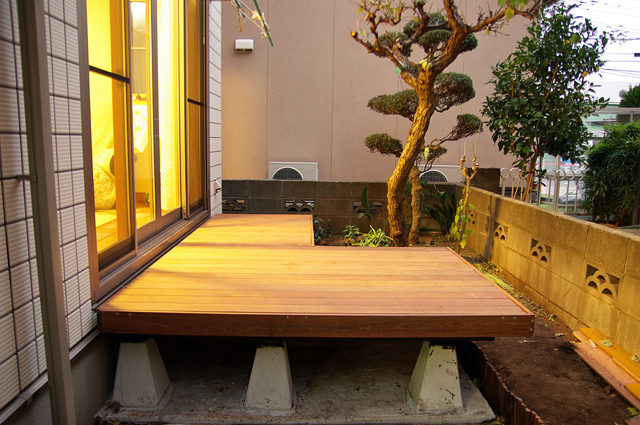 How to Make the Wood Deck