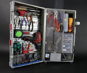 Flight-case Toolbox and Workstation