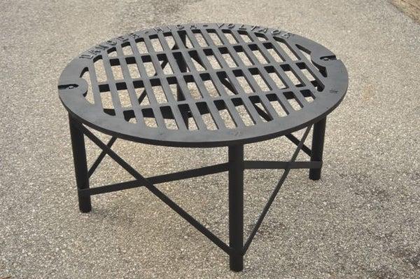 Scrap-Iron Patio Table