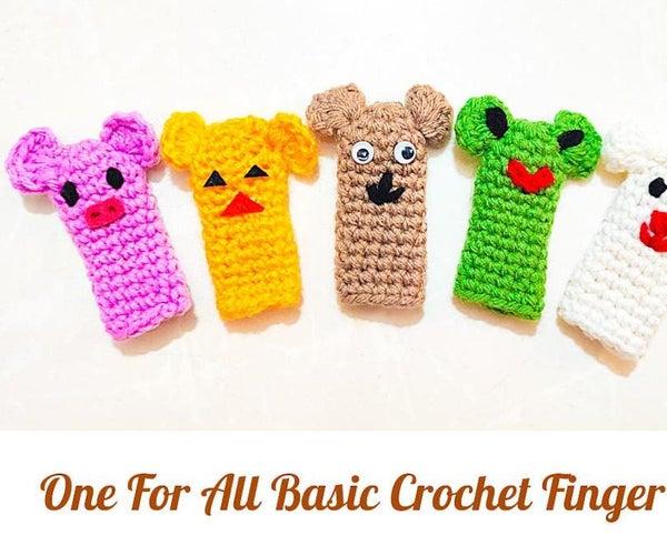 One for All Basic Crochet Finger Puppet Pattern