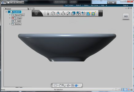 Creating the Shape in 123D