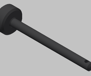 AutoCad Inventor 2011: How to Make a Hitch Pin