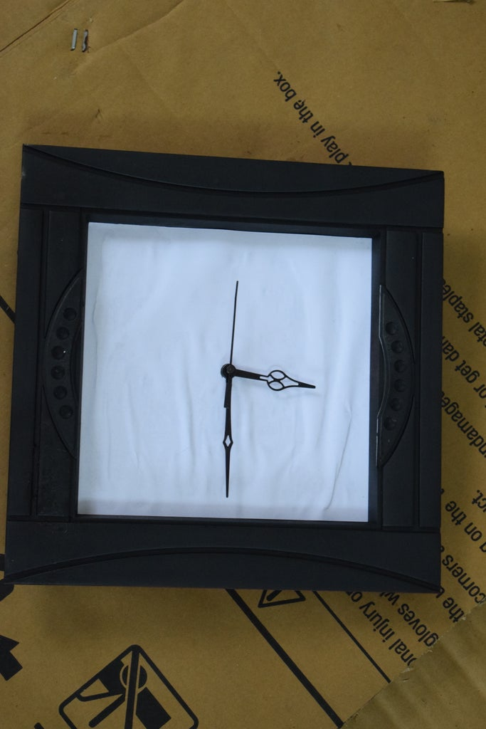 Making the Clock Face