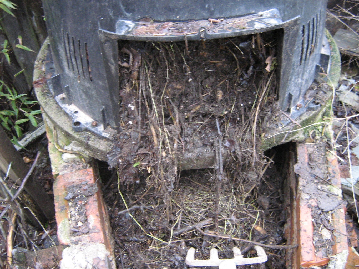 Using the Composter!