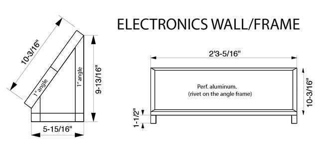 Electronics Panel / Frame