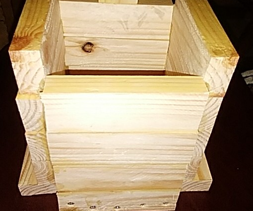 Box Made From Single 8 Foot 1x2 Piece of Lumber