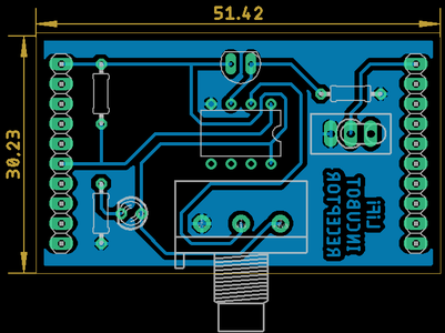 Electrónica Receptor (Esquemático Y PCB)