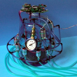 Artificial Muscle Air Controller