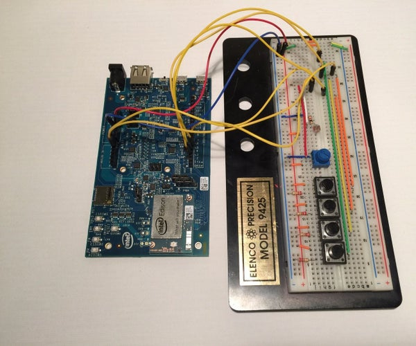 Using Buttons and Sensors to Make Music With the Intel Edison