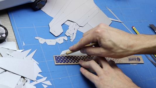Print / Cut / Score / Fold
