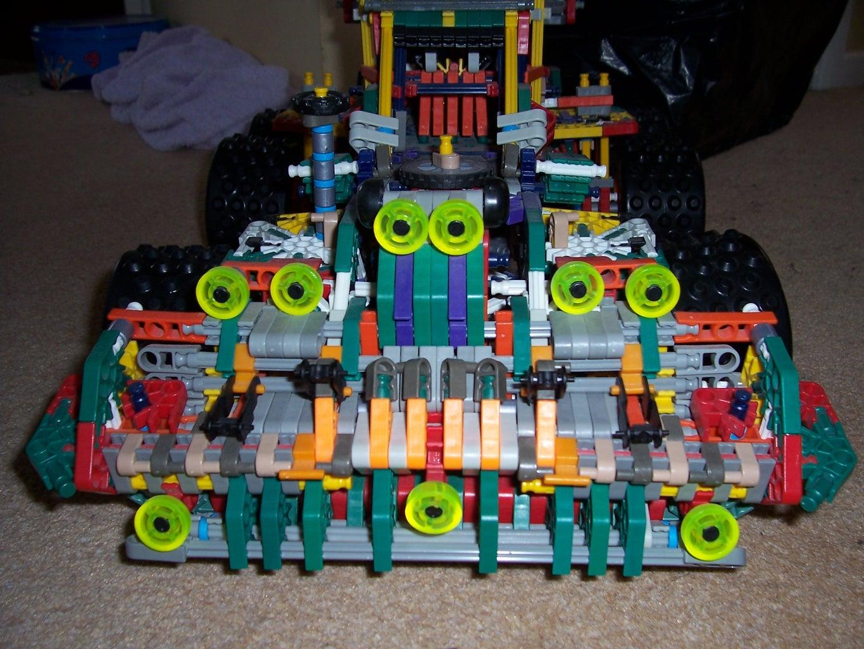 Huge Knex Monster Truck