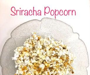 Spicy Sriracha Popcorn