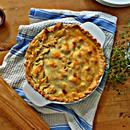 Savory Mushroom Pie With Homemade Puff Pastry