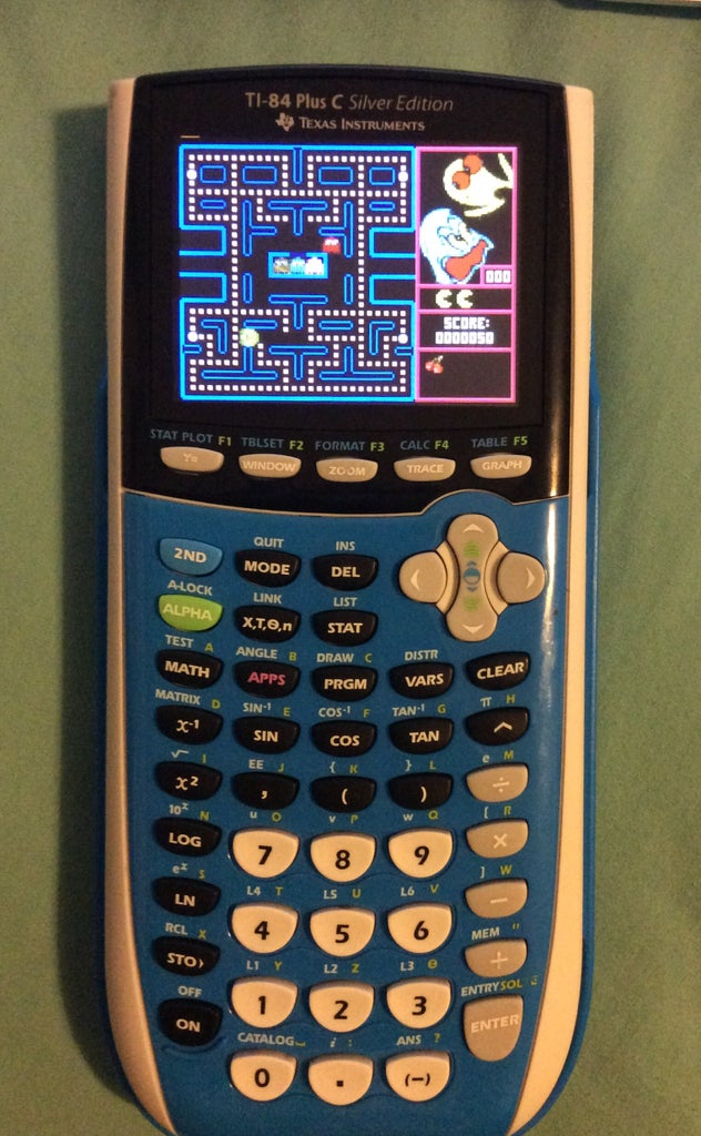How to Put Games on Your TI 84 Plus C Silver Edition Caluclator