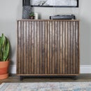 DIY Slat Wood Cabinet