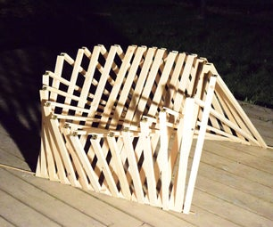Folding Chair With a Twist