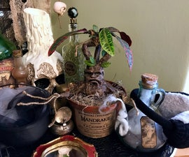 Harry Potter Mandrake Plant Prop