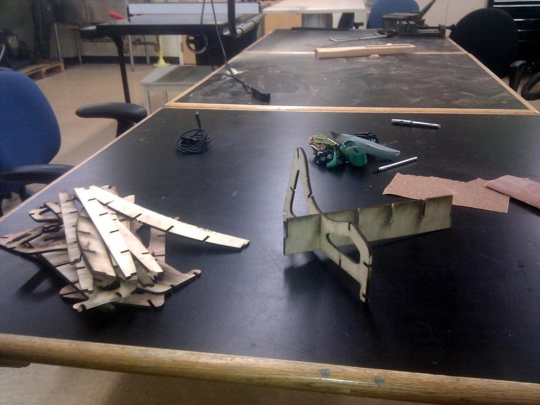 Laser Chop and Put Together