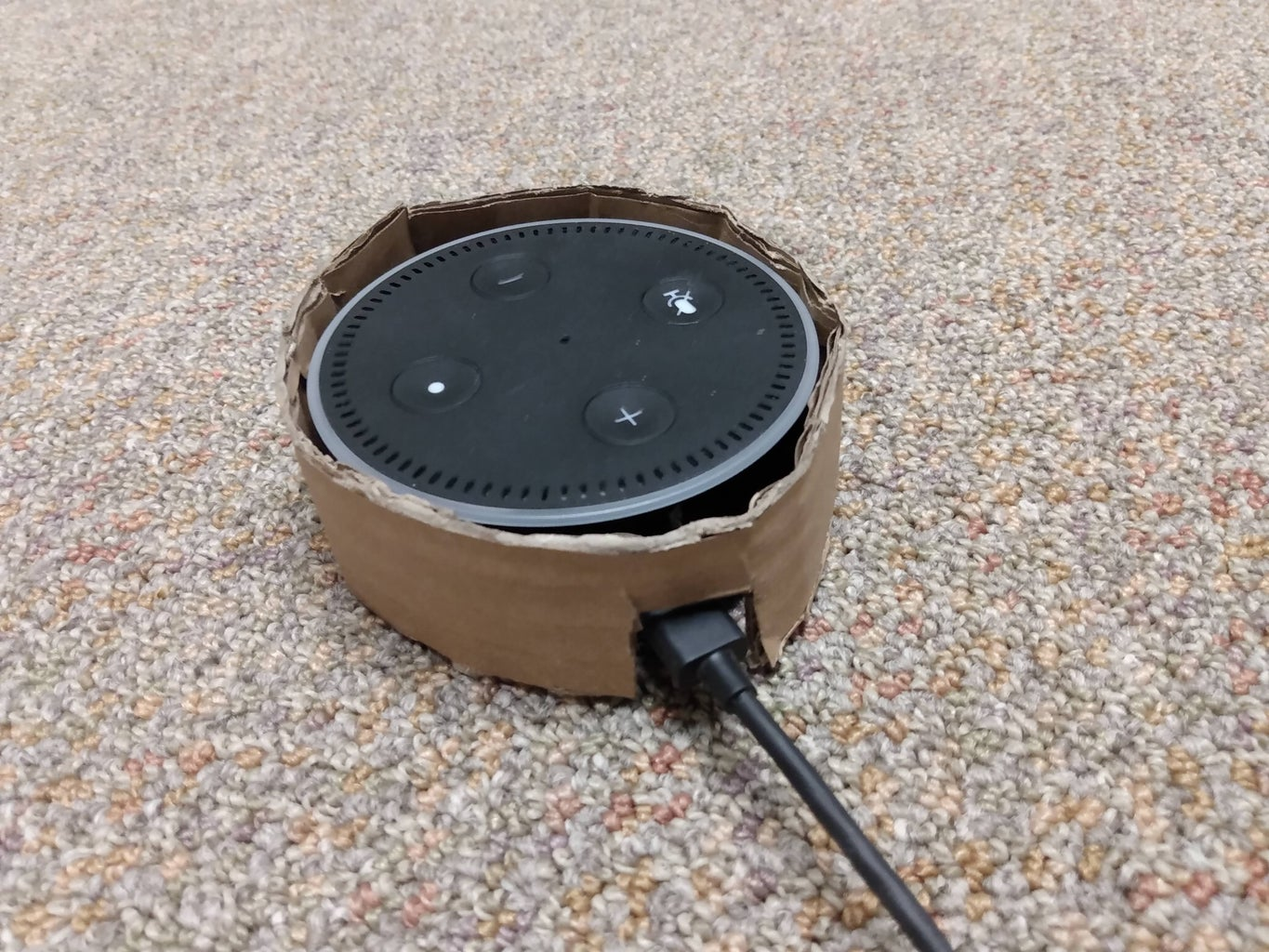 Make a Holder for the Real Echo Dot