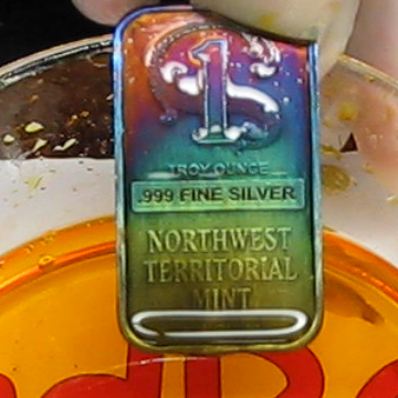Make Silver Different Colors by Anodizing