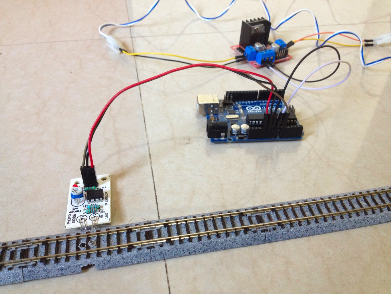 Connect the Sensor to the Arduino Board