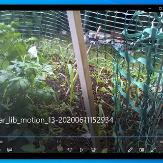 Raspberry Pi 3 Motion Detection Camera With Live Feed