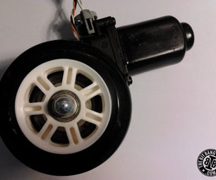 High Torque Encoded DC Motors for Robots From Car Window Motors