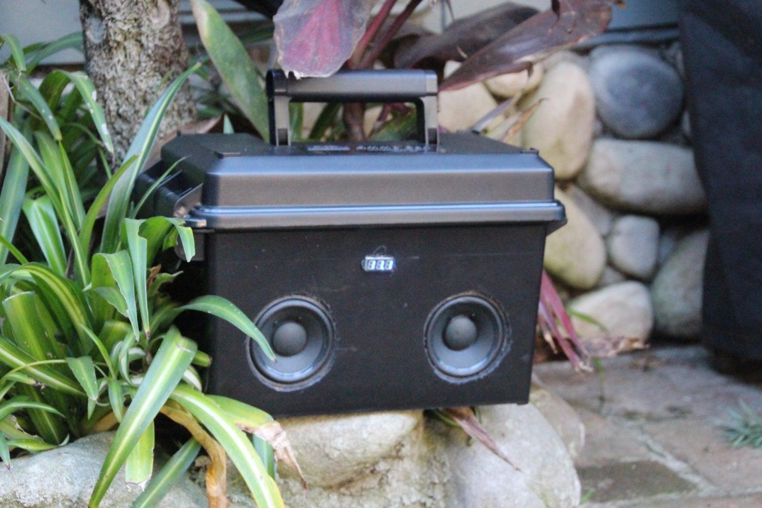 DIY Bluetooth Speaker 2.0