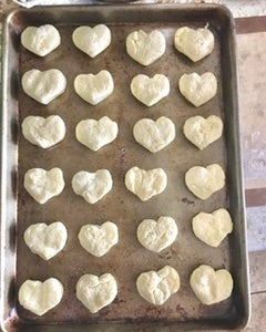Prepare the Biscuits for the Oven