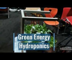 Bicycle Generator to Power Hydroponics System