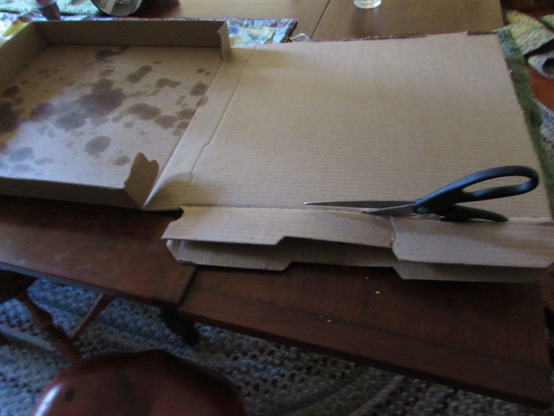 Cut the Pizza Box