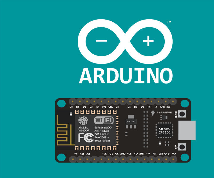 NodeMCU ESP8266 ESP12E DevKit & Arduino IDE (Simple IoT Prototyping)