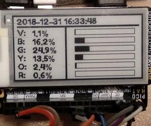 带电子纸显示的覆盆子PI色度计