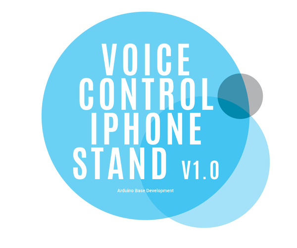Arduino IPhone Stand