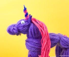 Mini Yarn Unicorn (or Horse)