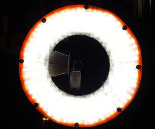 Portable LED Ringlight for Photography