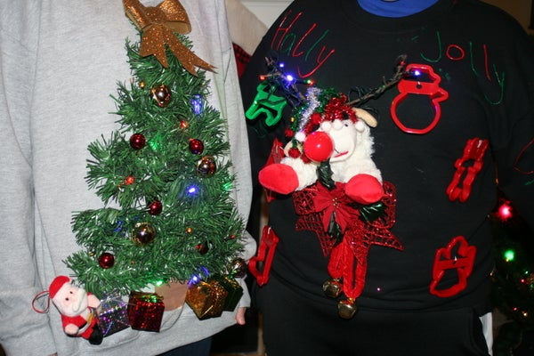 How to Make a Christmas Sweater